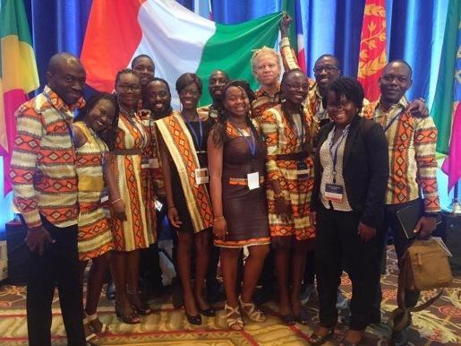 Delegation Ivoirienne YALI